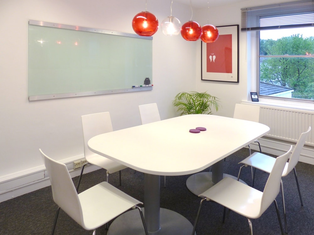 Small meeting room for hire at 19 West Street in Epsom